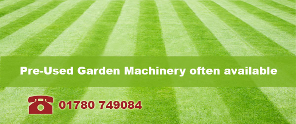 Call 01780 749084 for Second-hand lawnmowers